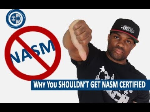Why you should NOT get the NASM CPT    Certification - YouTube