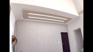 LEDcsillagos égbolt felszerelése lépésenként, Kucsera Gáboréknál 2