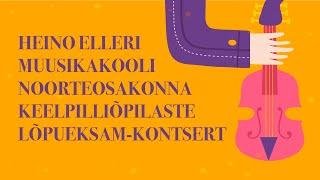 Noorteosakonna keelpilliõpilaste online lõpueksam-kontsert