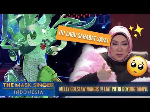 , title : 'Putri Doyong Nyanyi Lagu Nike Ardila, Melly Goeslow Nangis! | The Mask Singer S3 Eps. 7 (2/6) 2018'