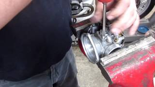 BMW Service - 1973 R75/5 Carb Disassembly