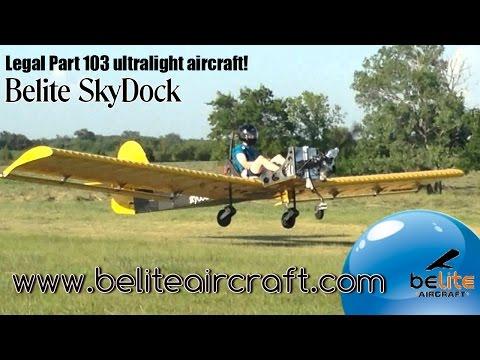 Skydock ultralight aircraft from Belite Aircraft funded by KickStart.