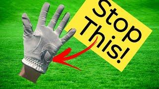 Why Do I Wear Holes In My Golf Glove