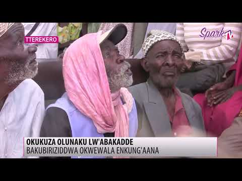 OKUKUZA OLUNAKU LW'ABAKADDE: Bakubirizziddwa okwewala enkung'aana