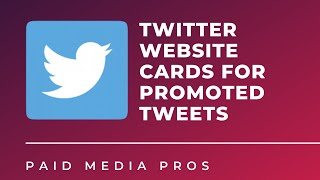 Twitter Website Cards for Promoted Tweets