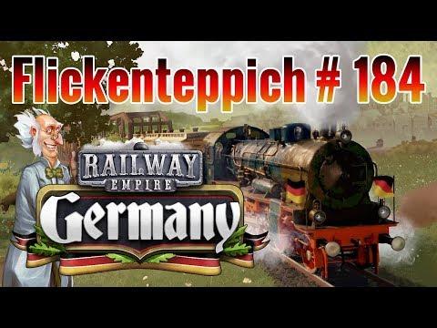 Railway Empire #184 · Flickenteppich [Germany DLC · gameplay deutsch]