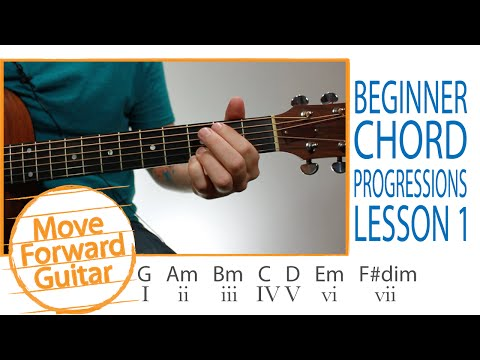 Guitar for Beginners - Chord Progressions Theory - Lesson 1