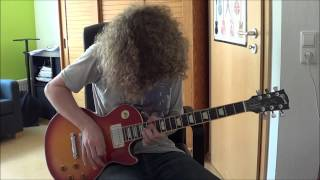 Gary Moore Cold Day In Hell Guitar Cover
