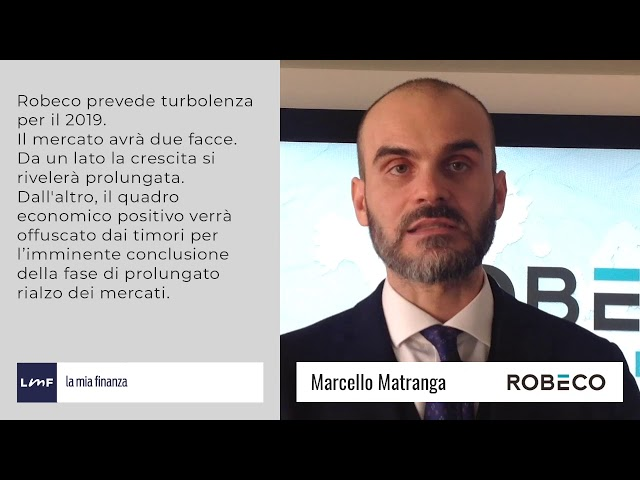 Outlook 2019 - Marcello Matranga (Robeco)
