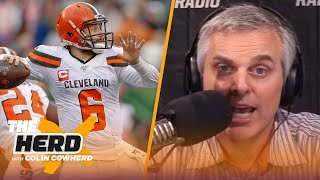 Colin predicts if teams will flip or flop next season after NFL free agency signings   THE HERD