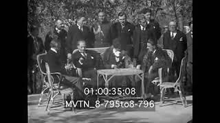 Atatürk Elçiyle Fransızca Konuşuyor