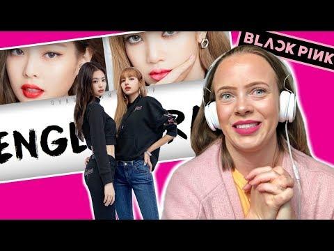 BLACKPINK - Lisa & Jennie English Rap parts (Color coded