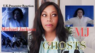 Michael Jackson Ghosts  - U.K.Presenter Reaction