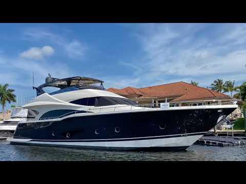 Marquis 720 Fly Bridge video
