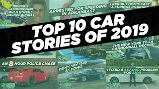 Top 10 Car Stories of 2019