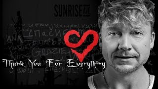 Sunrise Avenue   Thank You For Everything Broadcast #SunriseAvenue #ThankYouForEverything #SamuHaber