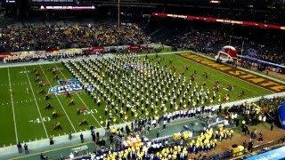 2015-16 ASU Marching Band - Cactus Bowl