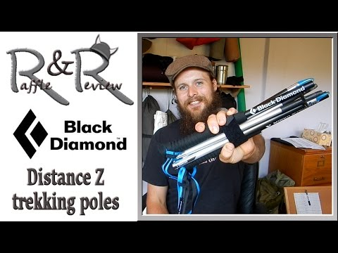 Black Diamond Distance Z Trekking Poles ~ Gear Raffle & Review with the Hiking Viking