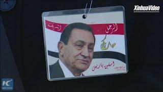 Egypt holds military funeral for former president Mubarak