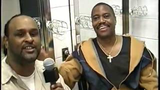 CUBA GOODING SR INTERVIEW 2003 MADISON SQUARE GARDEN N.Y.