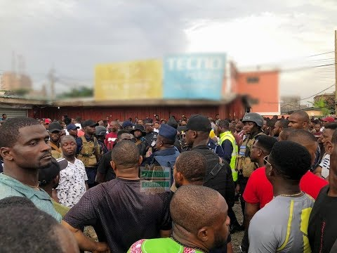 Watch: Ghanaian, Nigerian traders clash again at circle