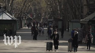 Its Too Quiet: Barcelona Residents Reflect On Spains Coronavirus Lockdown