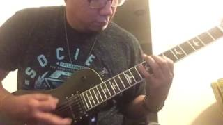 Trivium - Drown and torn asunder (Cover no solo)