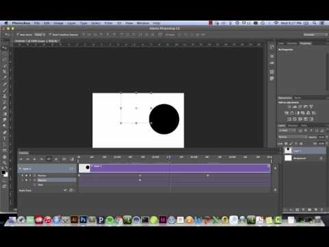 Simple Timeline Animation In Adobe Photoshop CC