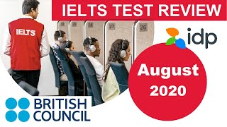 IELTS Test Review August 2020 By Asad Yaqub