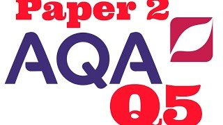AQA Paper 2 Question 5, Writing to Persuade from 2017