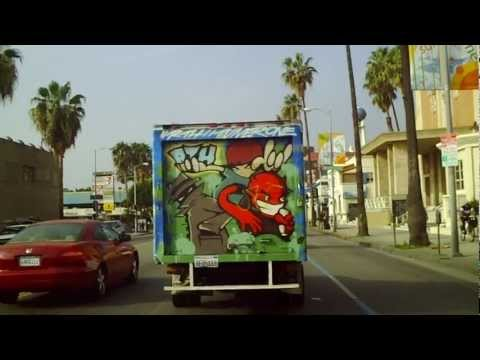 Cruising Sunset Blv.(Part 1 of 4) in Hollywood(HD)