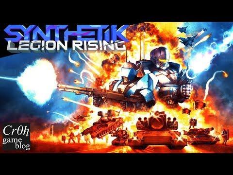 SYNTHETIK: Legion Rising. Стрим-обзор от Cr0n. Review.