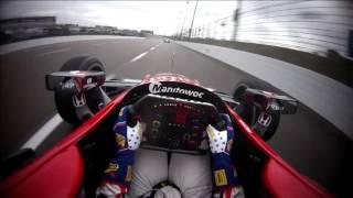 IndyCar - Texas2017 Prac Rahal Onboard Laps