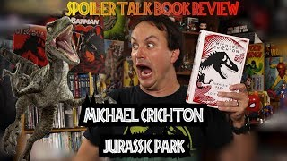 Michael Crichton's Jurassic Park Book Review SPOILERS