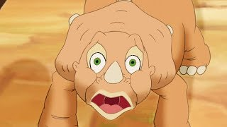 Land Before Time   The Amazing Threehorn Girl   Videos For Kids   Kids Movies