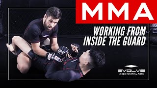 MMA | Working From Inside The Guard