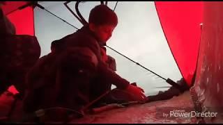 Ловля карася в конце Января  От самого юного рыбака Казахстана Глухозимье 2018 GGG Kaiser TV