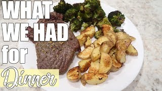 What's for Dinner | Easy Budget Friendly Family Meal Ideas | January 2020
