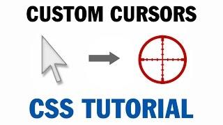 CSS Custom Mouse Cursor Tutorial Canvas CSS HTML