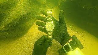 Scuba Diving for a Missing $15,000 Diamond Rolex! (Unbelievable Find)