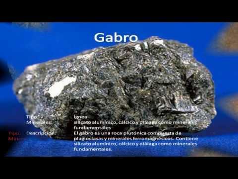 Tipos de Rocas (Con Nombres)