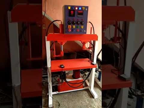 Single Die Hydraulic Paper Plate Making Machine