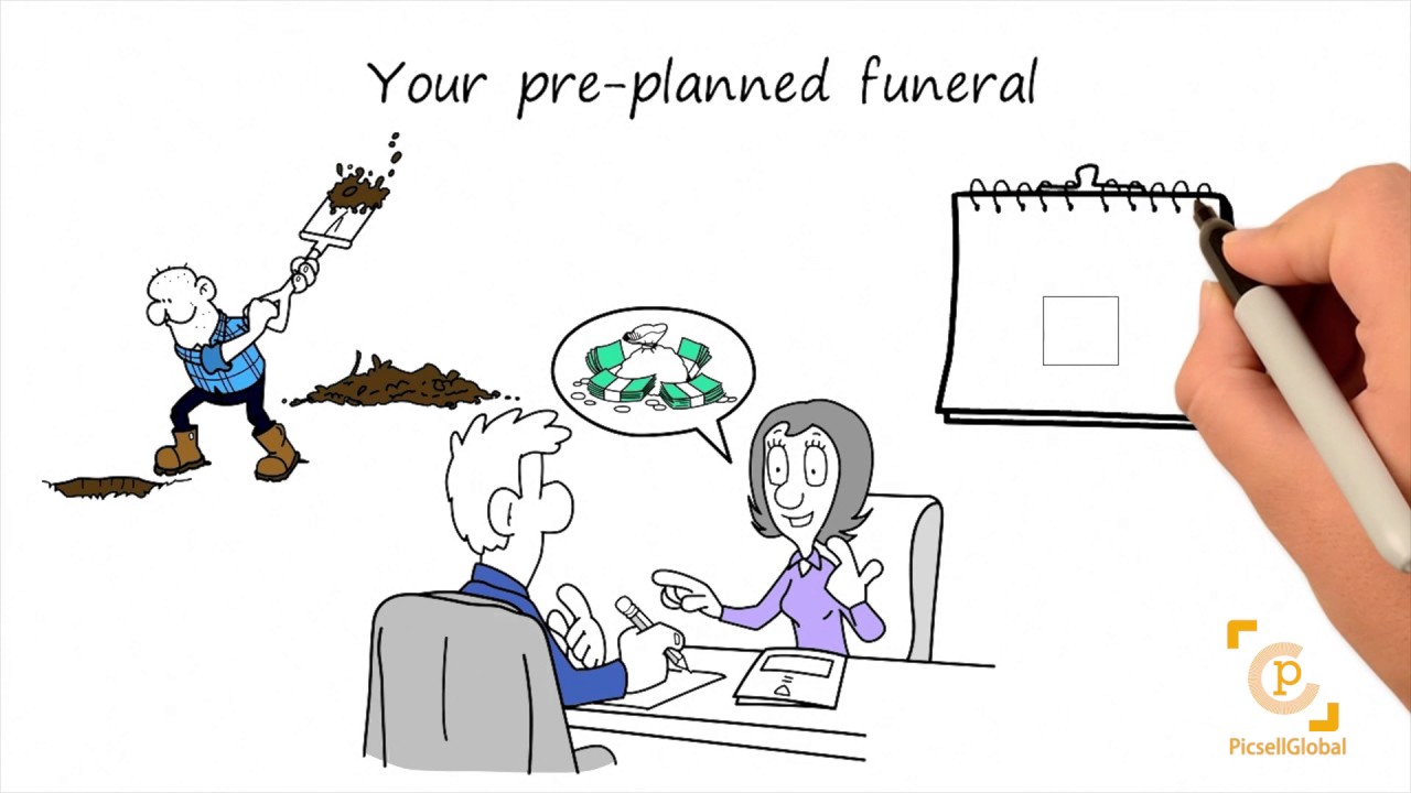 Whiteboard style promotional video pro active planing