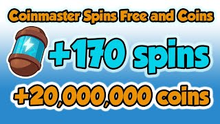 Coinmaster spins free and coins links 24.02.2021