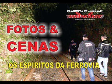 FOTOS + CENAS - ESPÍRITOS DA FERROVIA