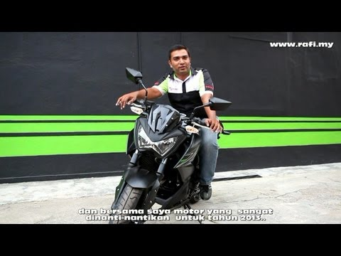 Kawasaki Z250 Review & Engine Revving