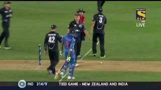 India NZ 3rd ODI Full Match Highlights HD played on 25th Jan'14