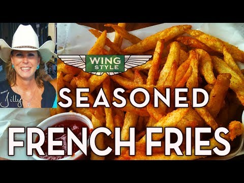 Seasoned French Fries – Homemade from Scratch