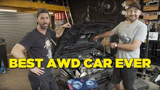 Fixing the best JDM 2 door AWD car ever made