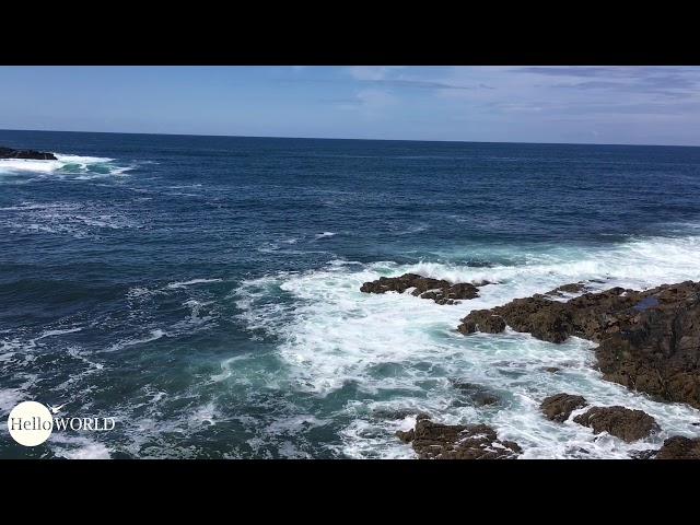 Küstenabschnitt am Playa de Fabal